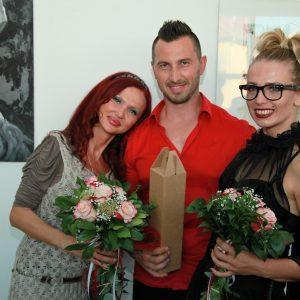 Živa Kesh, Katarina Vojković i Nenad Bravar