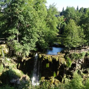 Rastoke waterfalls