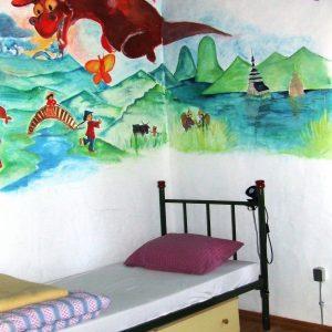 Soba u sunčanom selu